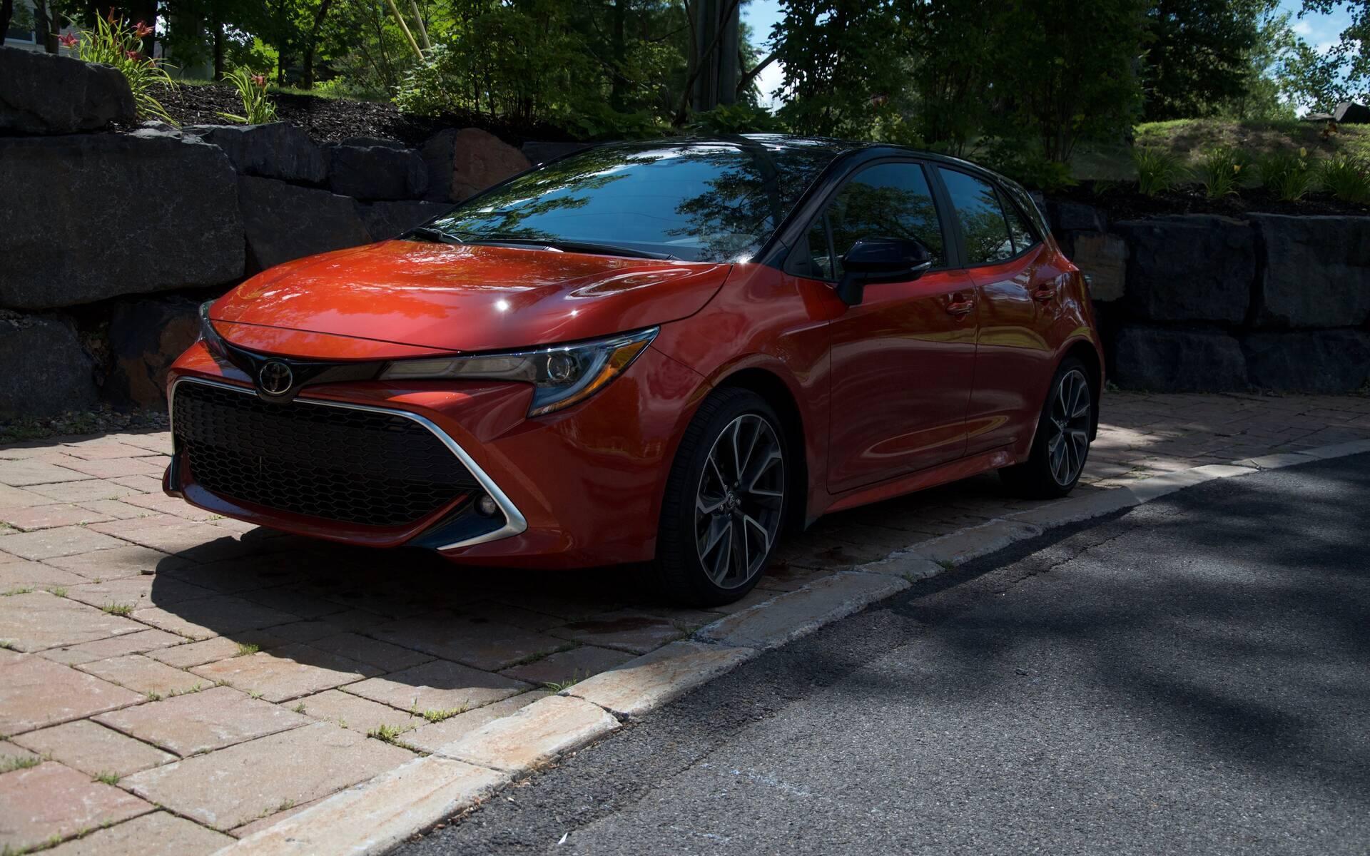 Toyota Corolla XSE 2020 : boîte manuelle en prime