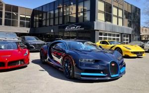 Un collectionneur d'ici achète une Bugatti Chiron