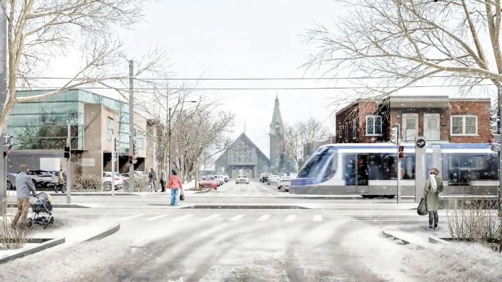 Tramway: la Ville de Québec veut éviter la perte de stationnements privés
