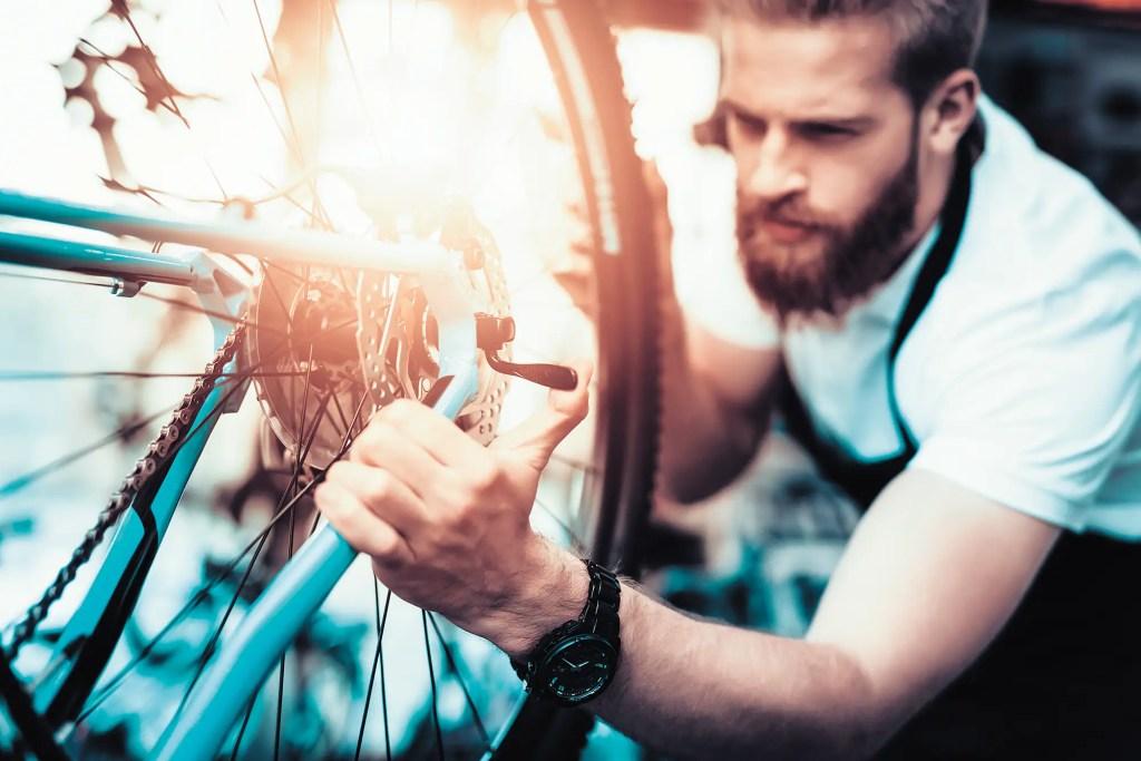 Aux petits oignons avec son vélo