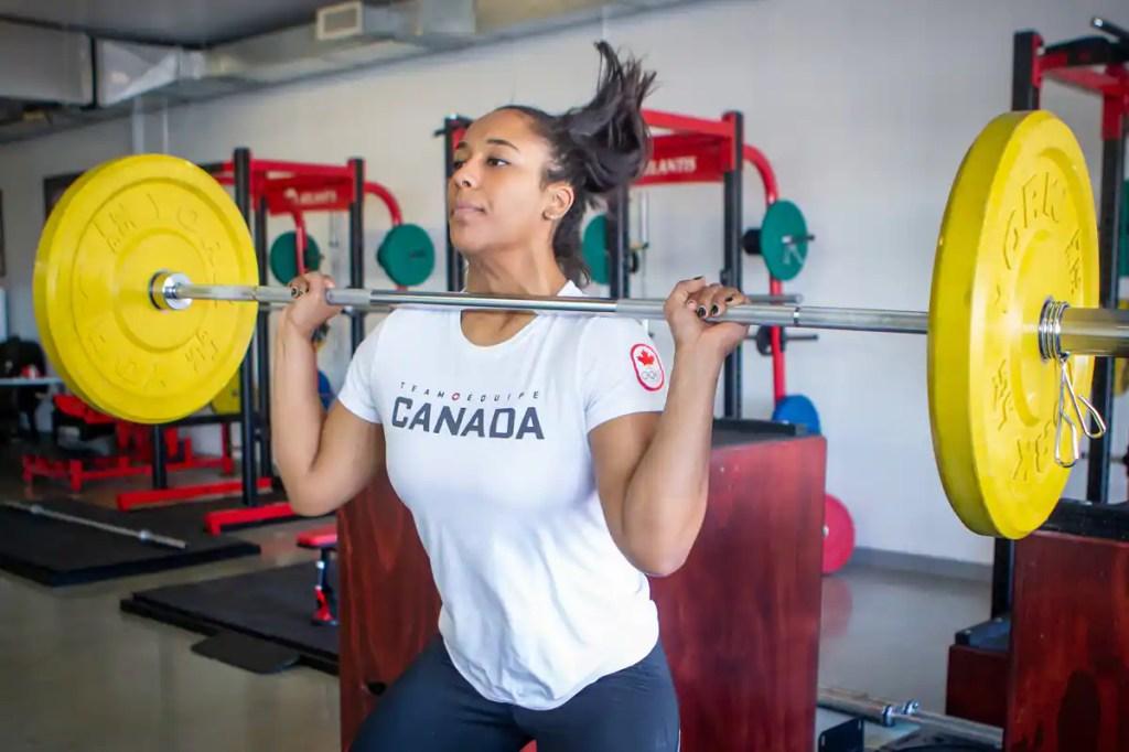 Jeux olympiques: Kristel Ngarlem n'en fait pas une obsession