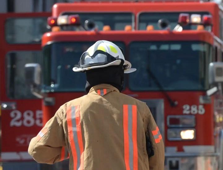Un violent incendie fait un ravage au centre-ville de Farham