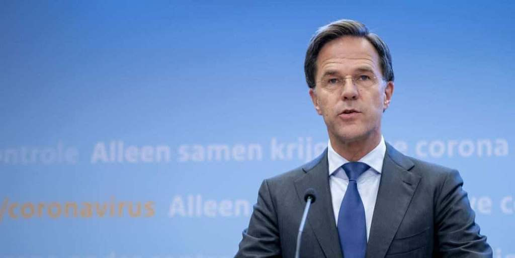 Le Premier ministre néerlandais en route vers un bras de fer avec l'UE