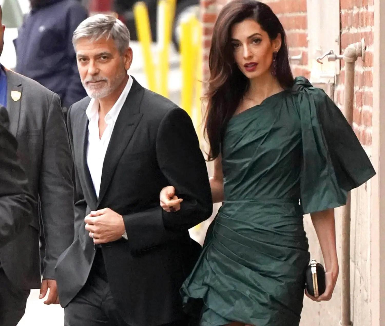 Beyrouth: George et Amal Clooney font un don de 100 000$