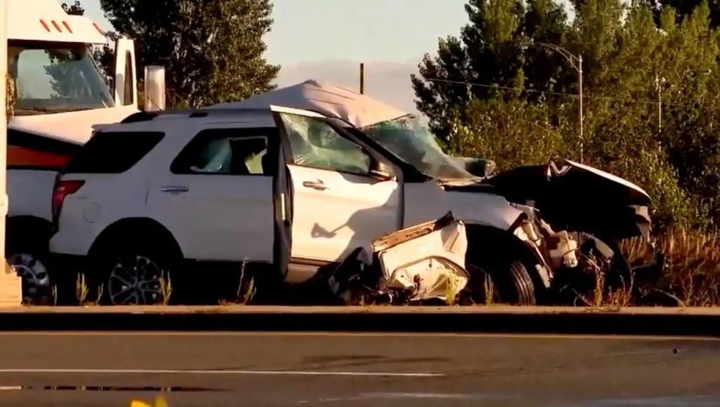 Saint-Célestin: une collision fait un mort sur l'autoroute 55
