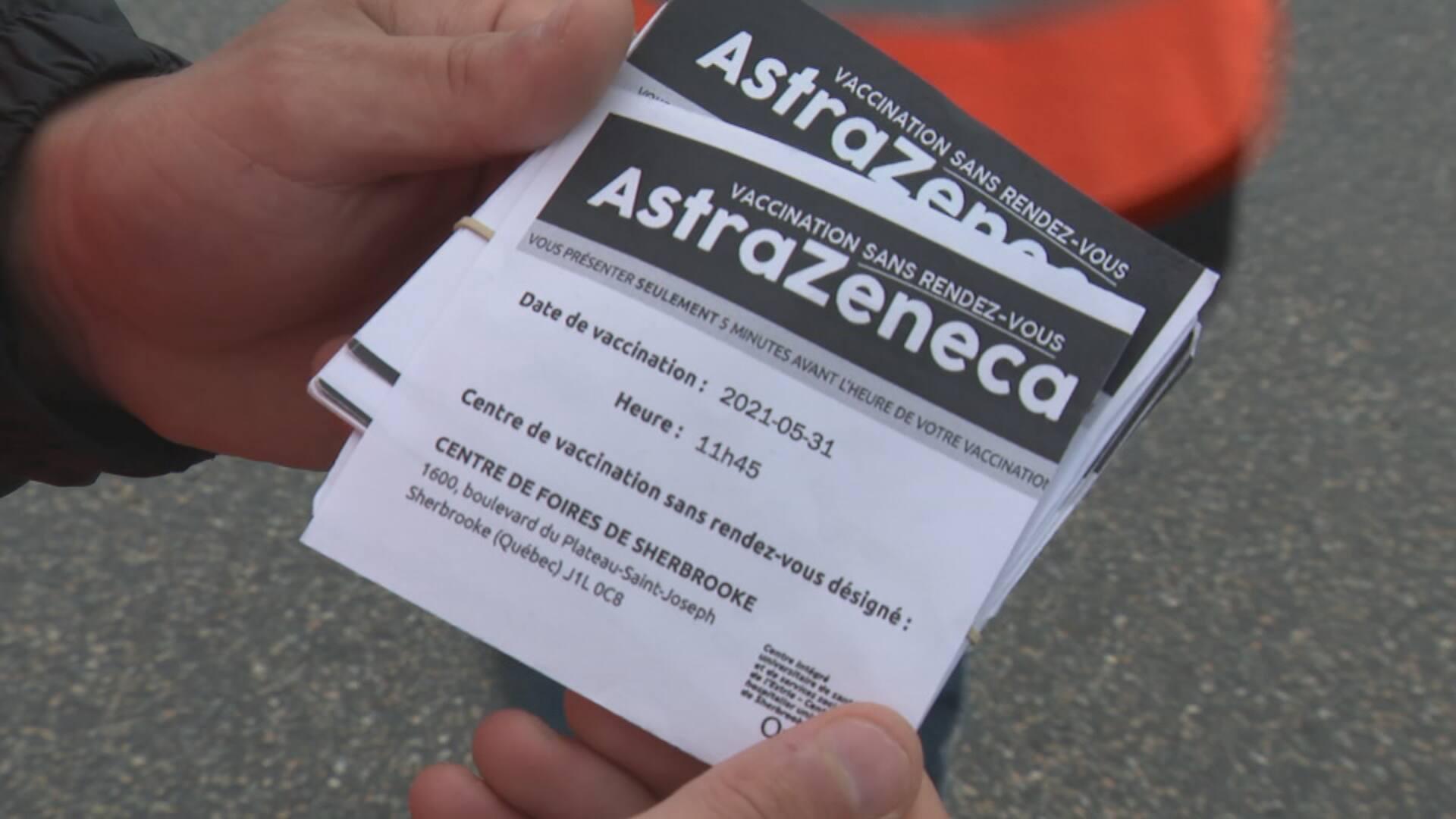 Les secondes doses d'AstraZeneca populaires en Estrie