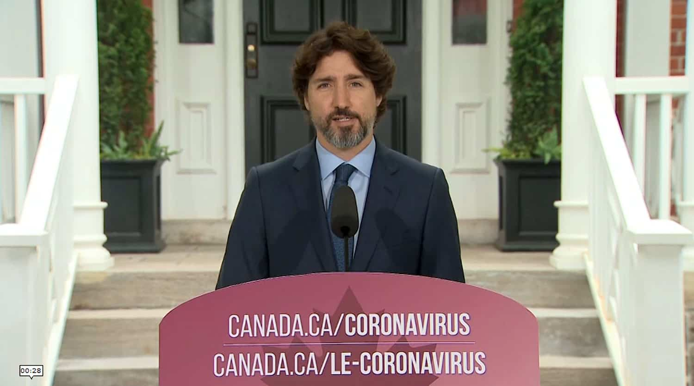 Crise aux États-Unis: le silence de 21 secondes de Justin Trudeau