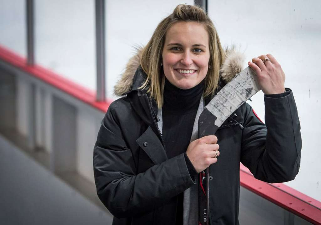 Marie-Philip Poulin: meilleure hockeyeuse au monde