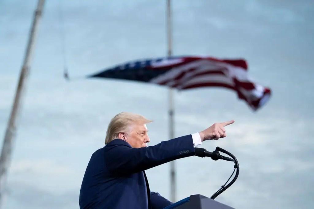 Floride, Géorgie, Virginie: Donald Trump au pas de charge