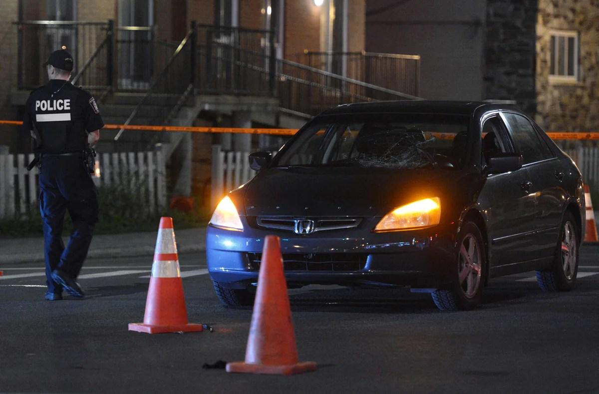 Une voiture percute un piéton dans Ahuntsic