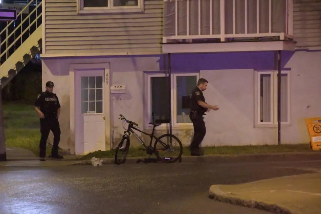 [PHOTOS] Un ado se blesse gravement à vélo dans Saint-Sauveur