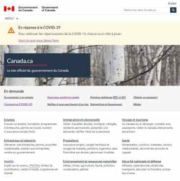 Comment S Inscrire Pour Recevoir La Prestation Canadienne