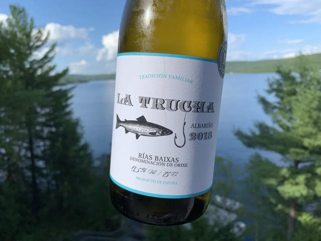 Un vrai vin pour la pêche!