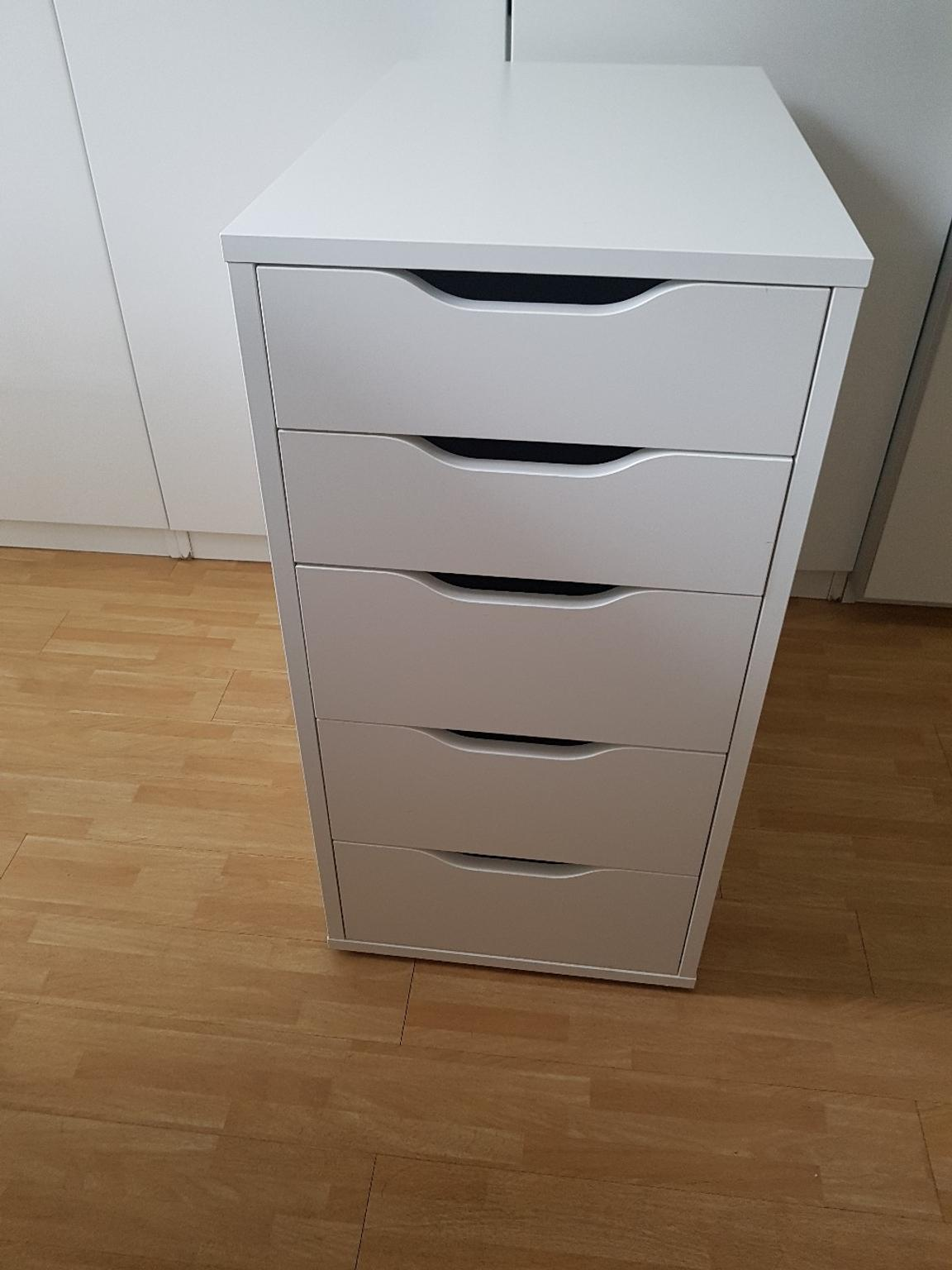 Gebraucht IKEA ALEX Schubladenelement mit 5 Schubladen in ...