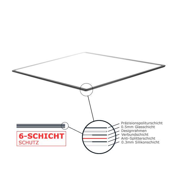 Delamax L'ARMURE Displayschutz aus 6-Schicht-Glas für