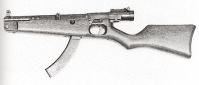 Japanese Type II Submachine gun M1 Pencil