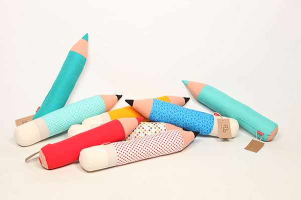 Lapiz  pencil pillow on Behance