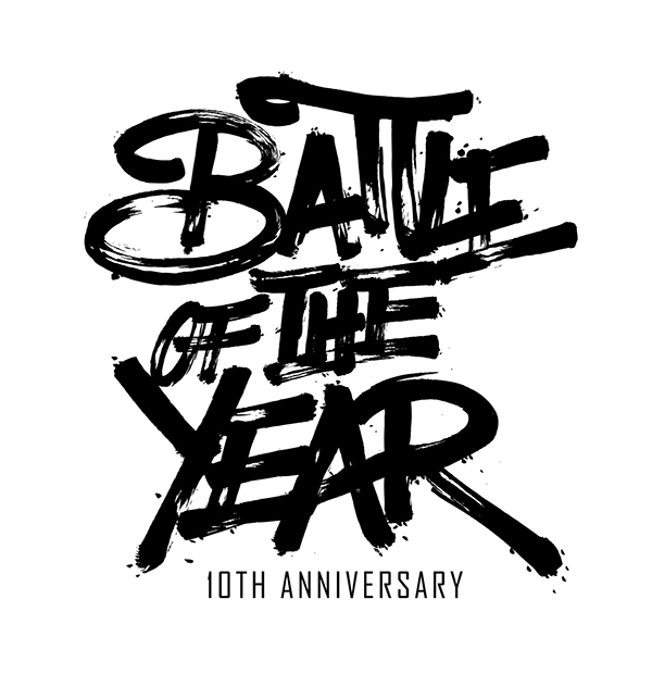Battle of the Year Italy 10th anniversary logo 2013. on