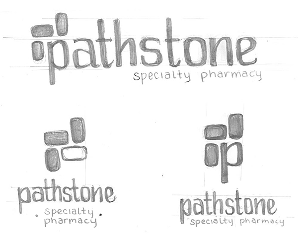 Pathstone Specialty Pharmacy Branding on Behance