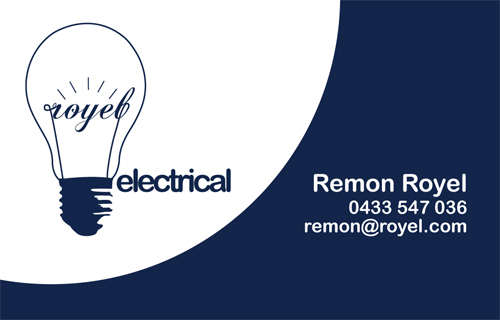 Electrical logos for business cards colourmoves