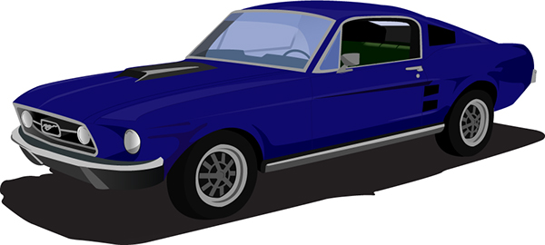 Mustang Clipart on Behance