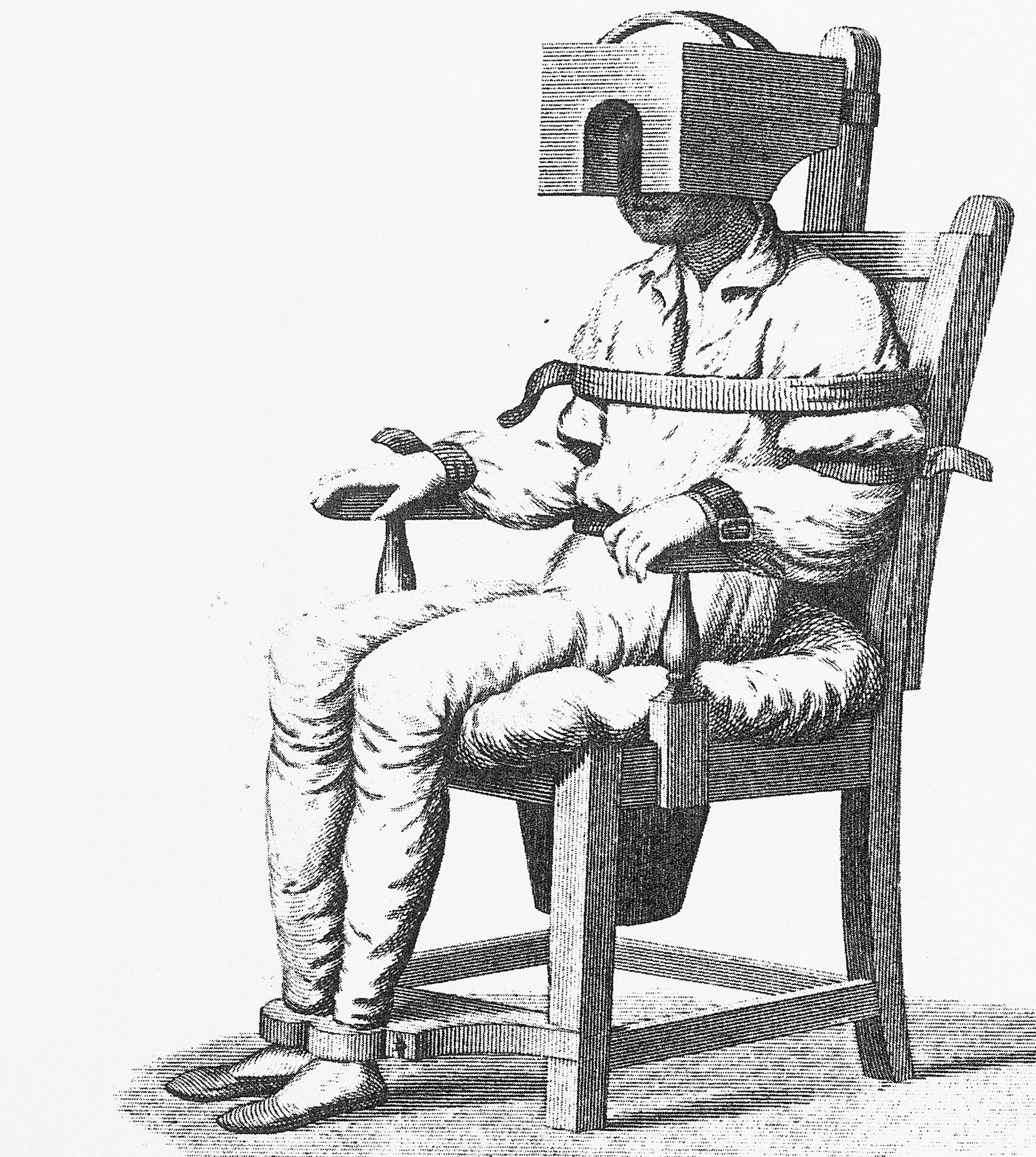 Psychiatrist Chair Seclusion And Restraint A Historical Perspective