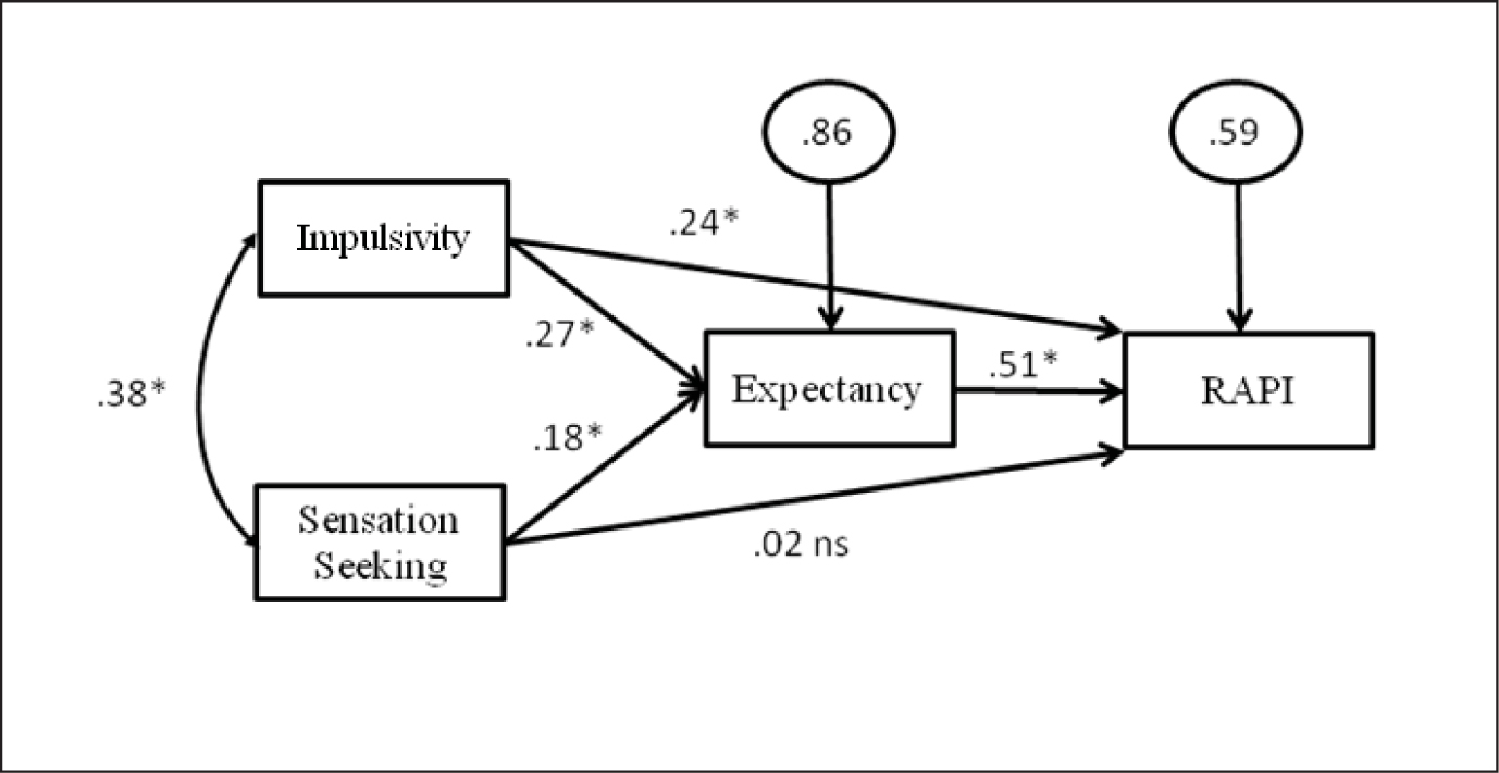 Personality Risk for Alcohol Consequences Among College
