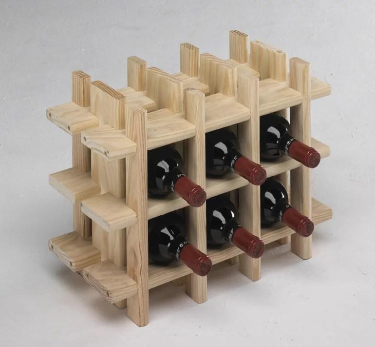 casier 15 bouteilles polystyrene