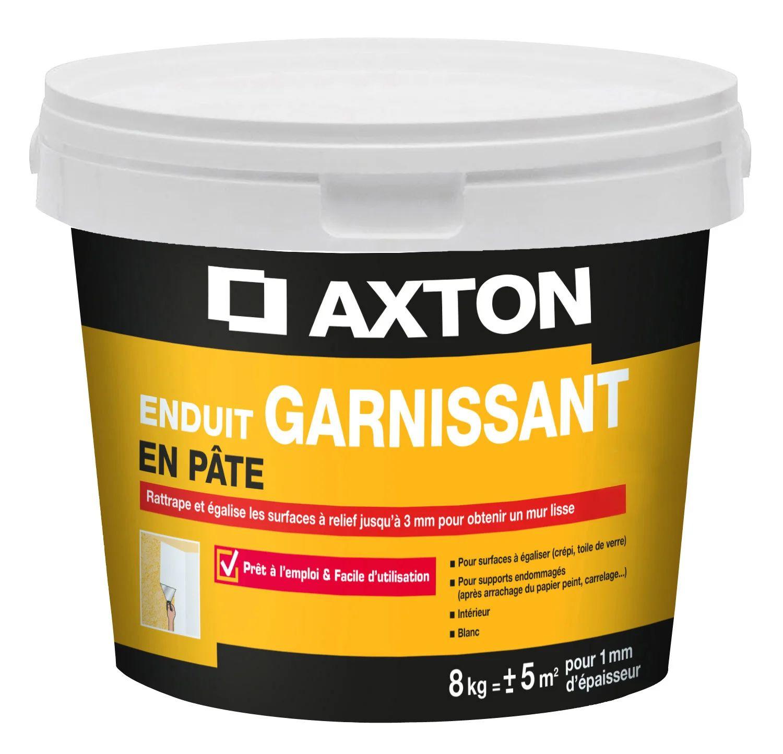 Enduit De Renovation Et Garnissant Axton 8 Kg En Pate Interieur Leroy Merlin