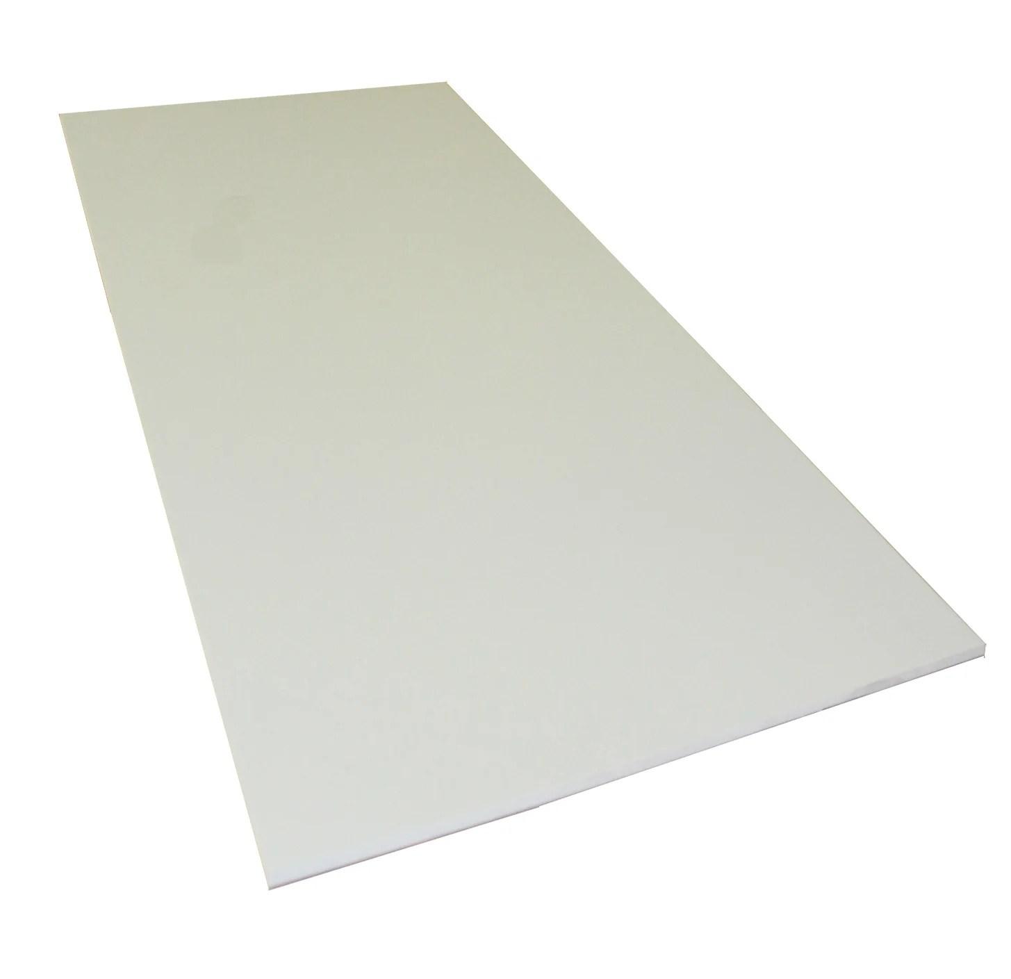 plaque pvc expanse 5 mm blanc lisse l