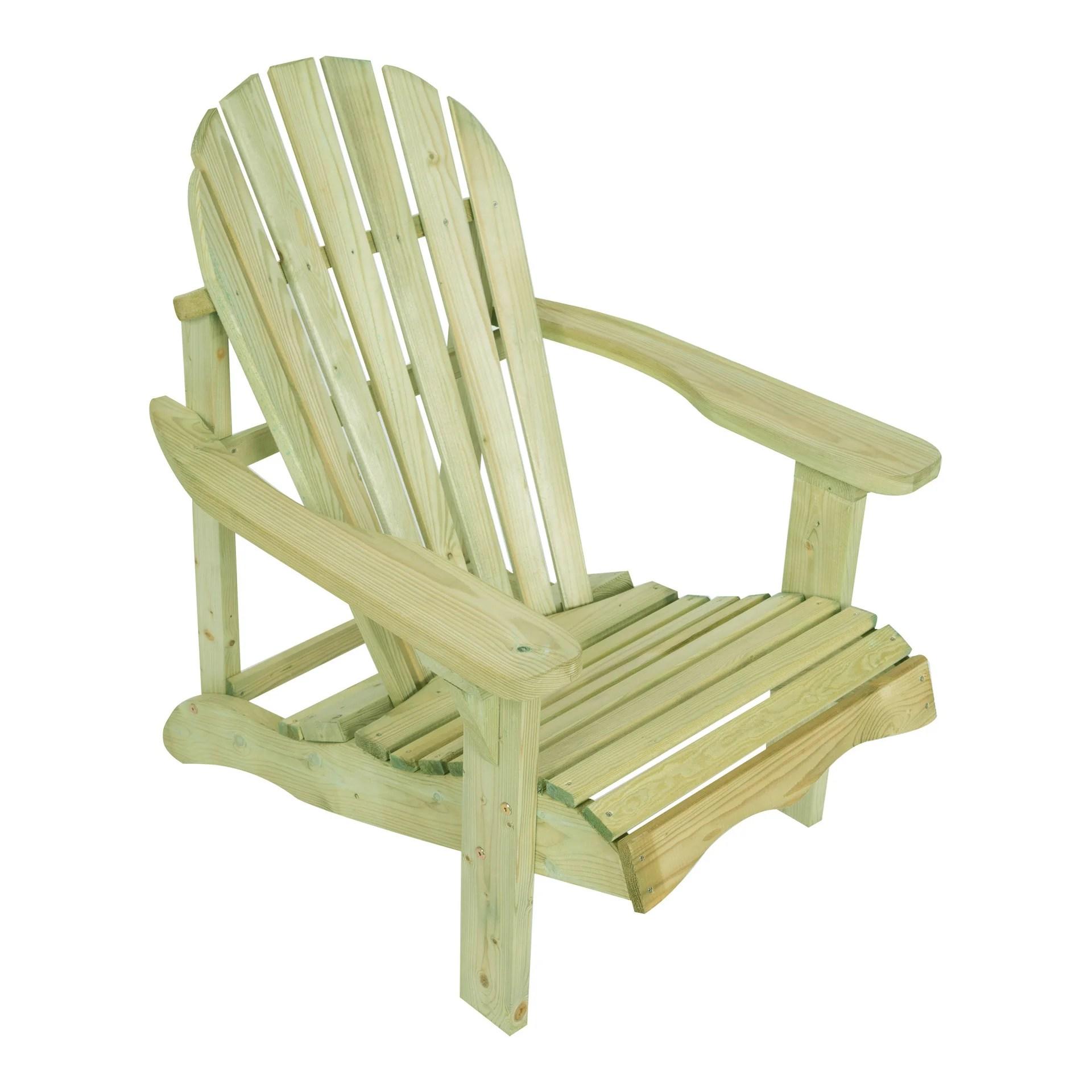 fauteuil de jardin en bois 253160 01lm naturelle leroy merlin