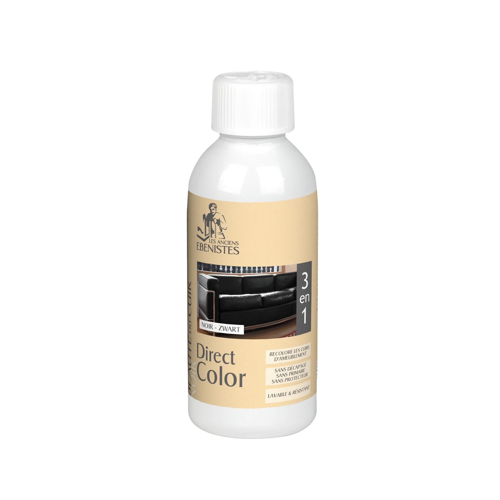 Colorant Cuir Les Anciens Ebenistes Noir 0 250 L Leroy Merlin
