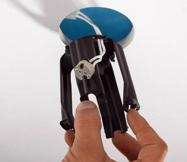 lot de 3 cloches de protection pour spot a encastrer spotclip ii fixe noir
