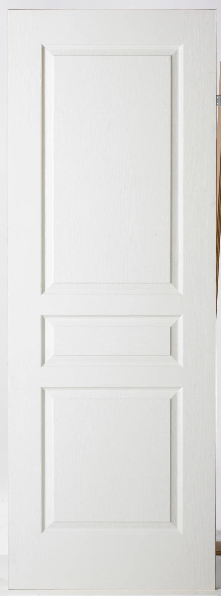 porte coulissante bois h 204 x l 93 cm