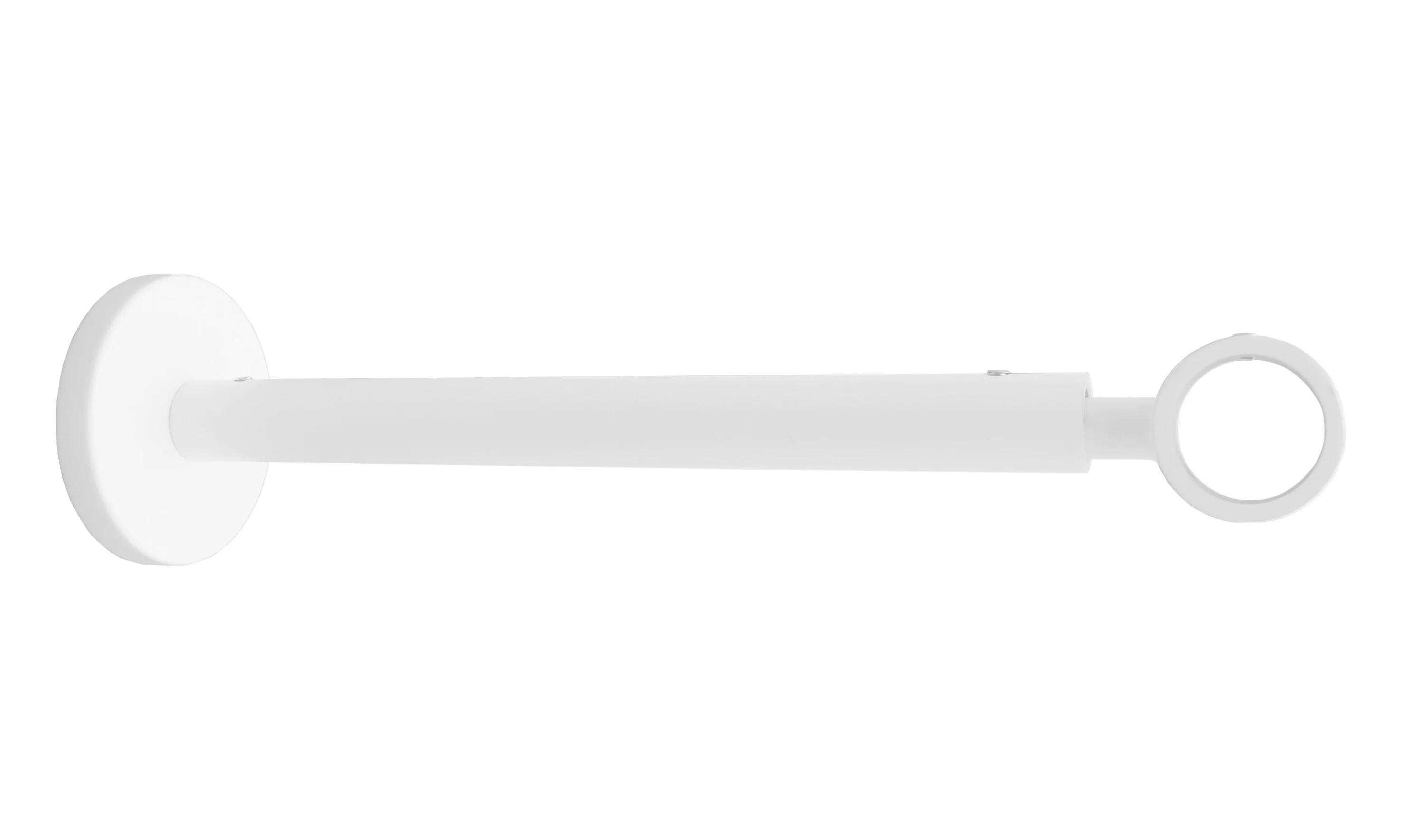 support extensible tringle a rideau design 20 mm blanc mat inspire