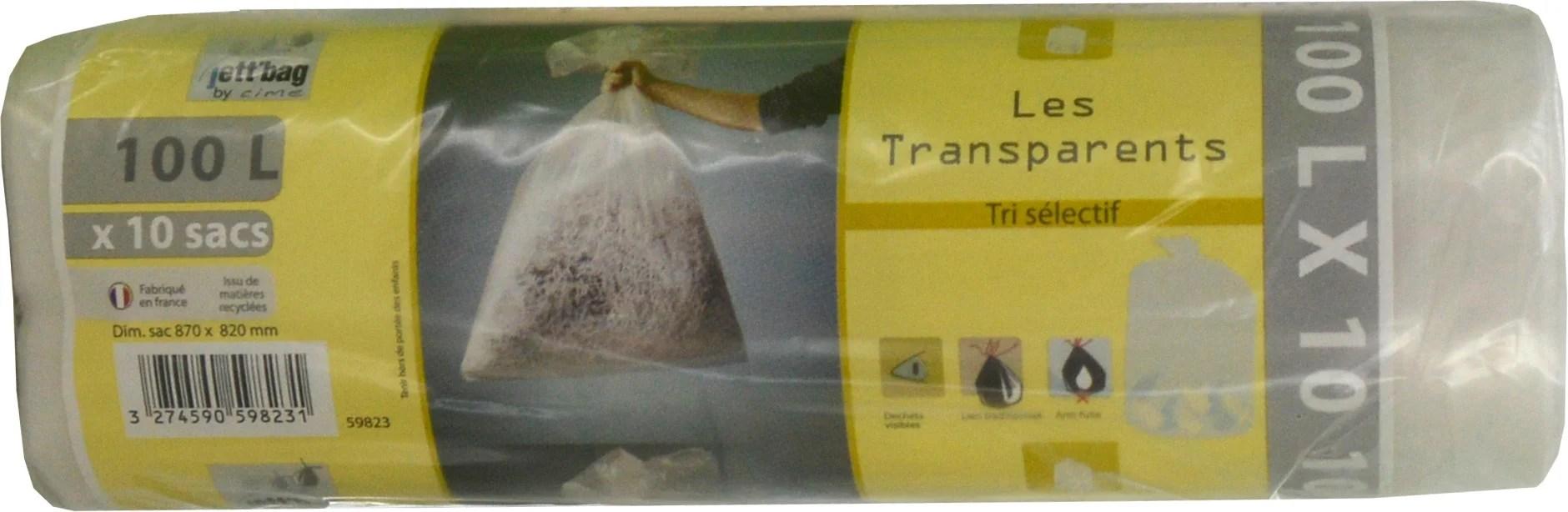 Sac A Dechet Transparent 100 L Leroy Merlin