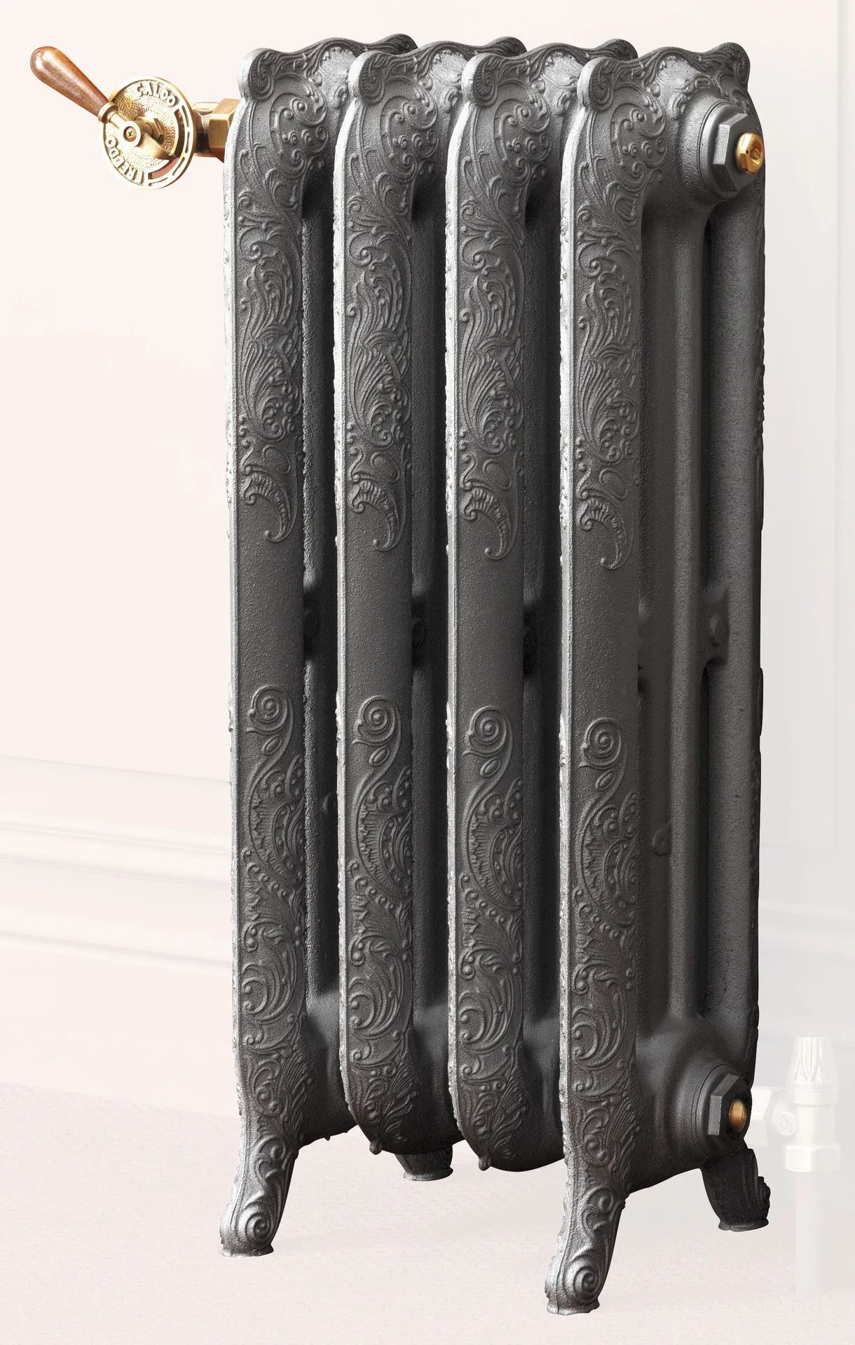 Radiateur Eau Chaude Vertical Heat Line Ren Anthracite 1291w H 66 X L 76 4 Cm Leroy Merlin