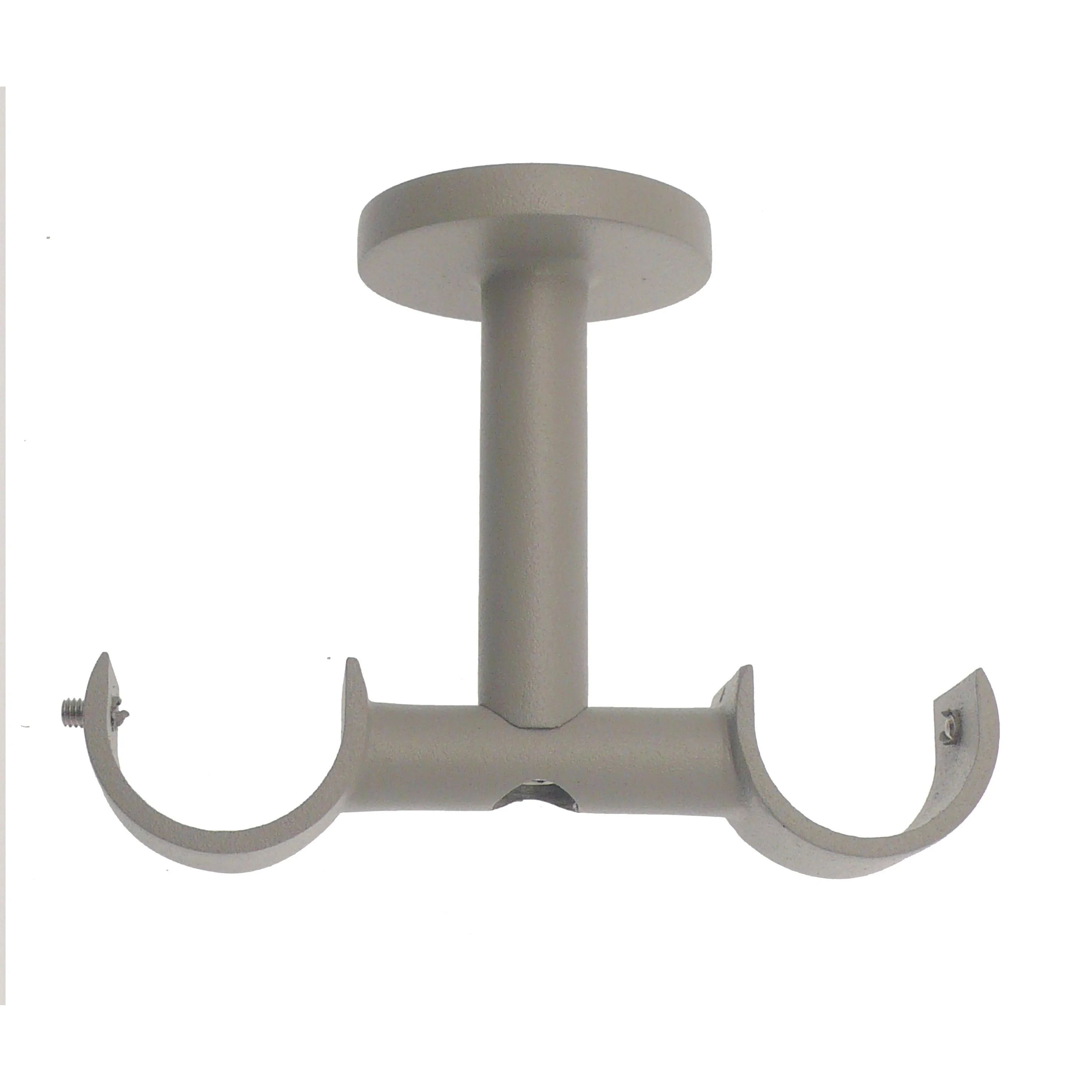 support tringle a rideau cosy 28 mm gris satine inspire