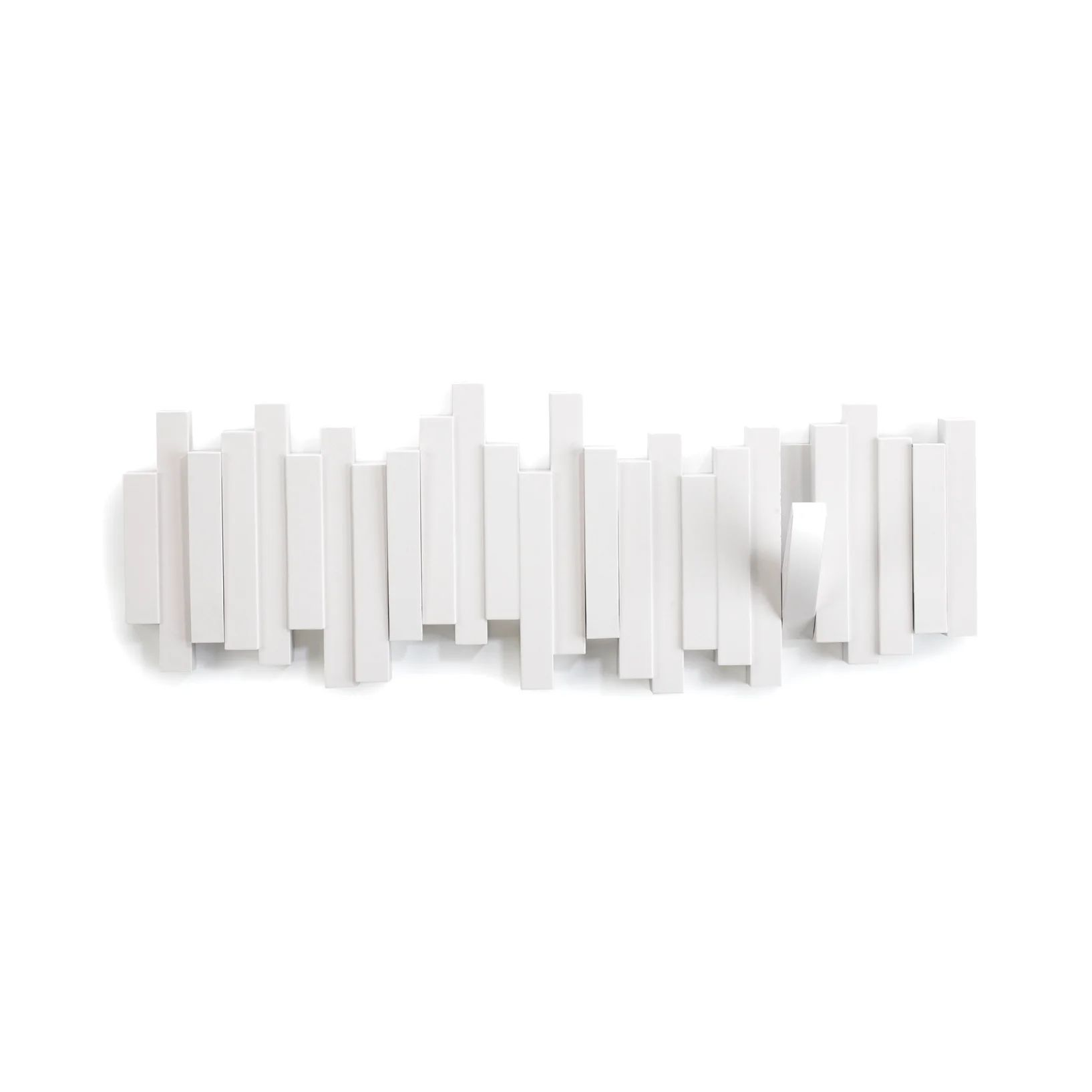 Patere Umbra Sticks 5 Pateres A Visser Blanc Leroy Merlin