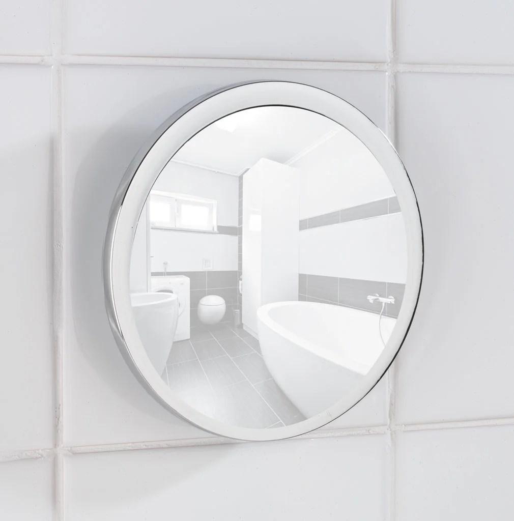 Miroir Grossissant X 5 Rond Ventouse H 14 5 X L 13 5 X P 3 5 Cm Pistoia Leroy Merlin