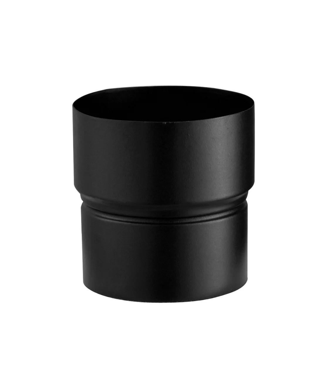reduction pour raccordement poujoulat d 150 noir cm