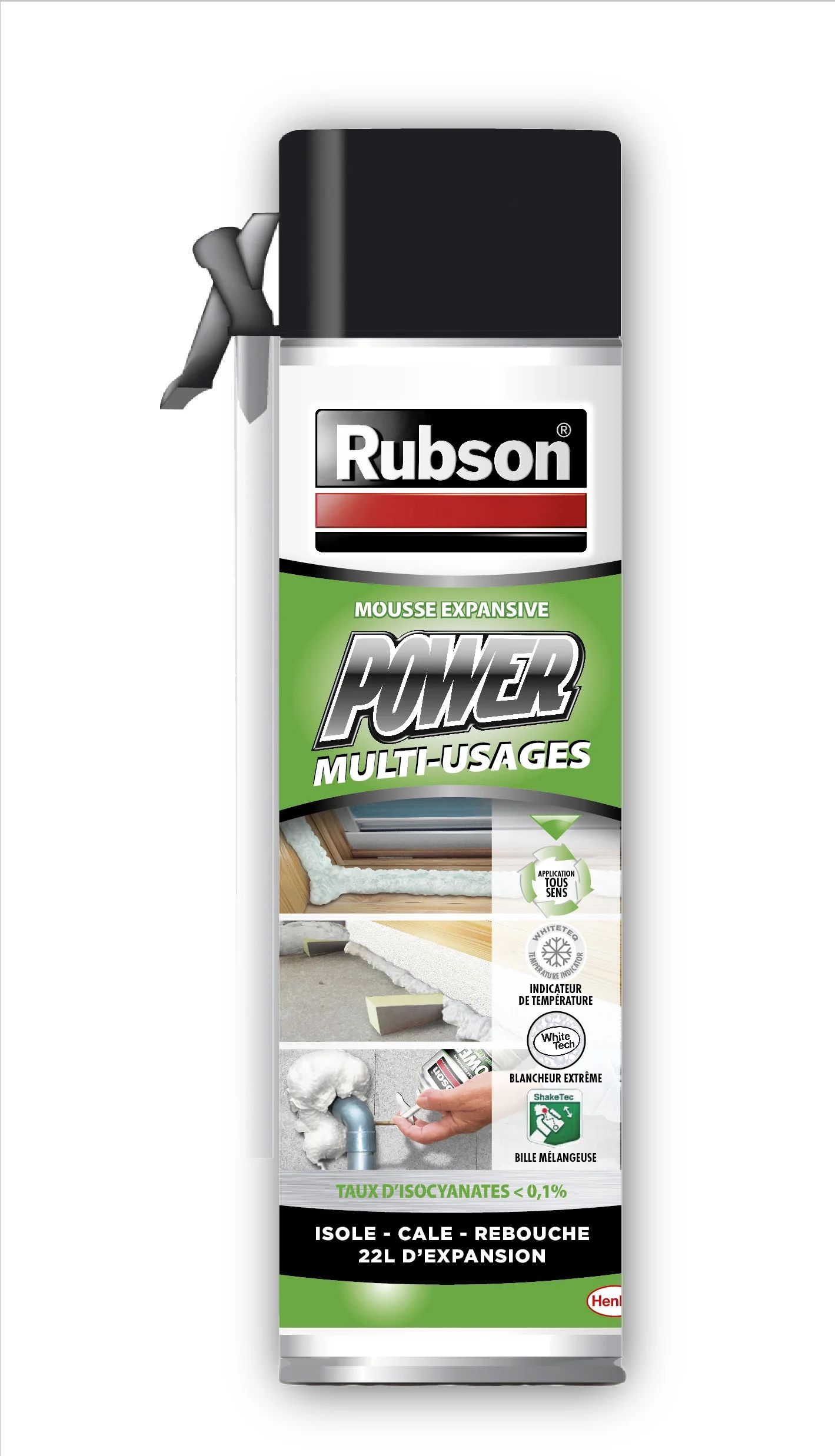 Mousse Expansive Rubson 500 Ml Leroy Merlin