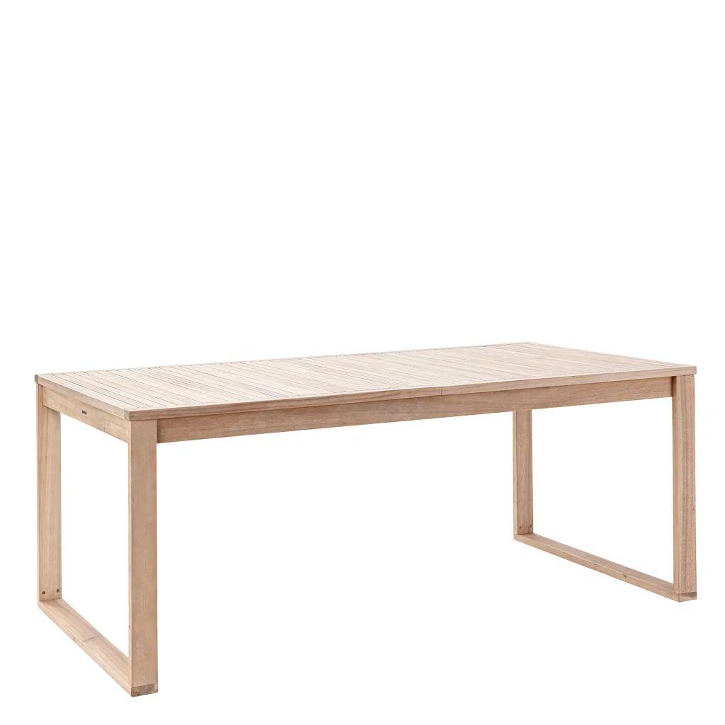 table de jardin de repas naterial solaris de 6 a 8 personnes