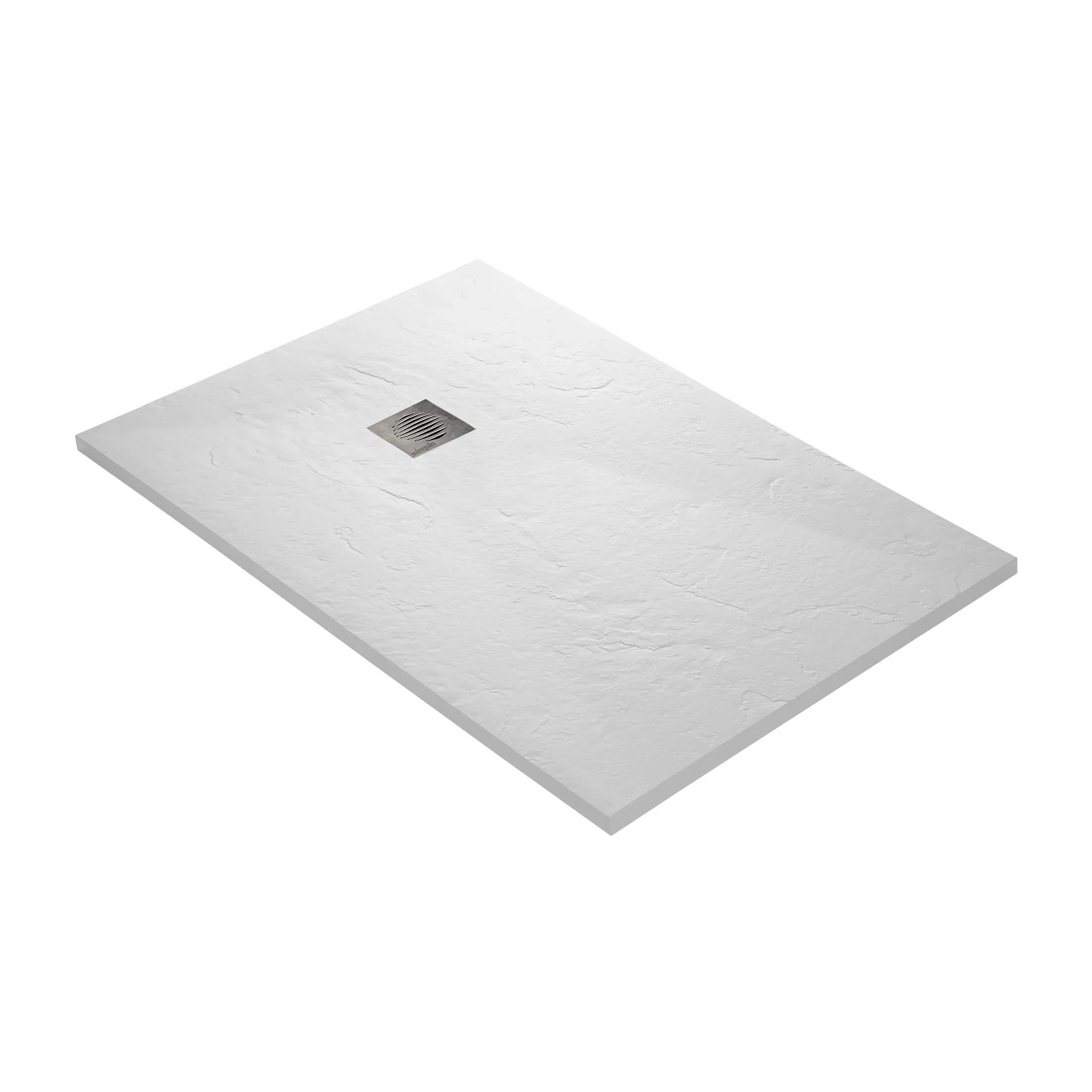 receveur douche extra plat resine blanc 120 x 80