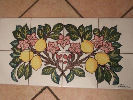 Pannelli in piastrelle  ceramica maiolica  Paperblog