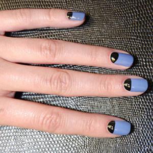 Halloween Nail Art Tutorial le unghie con mezza luna