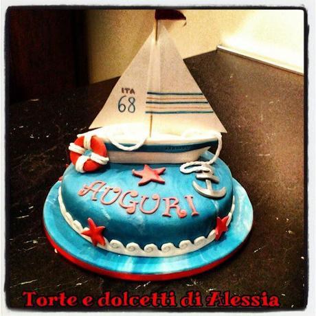 Una torta a tema mare  Sailing cake  Paperblog