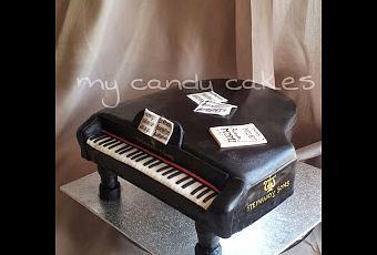 Piano cake  Paperblog