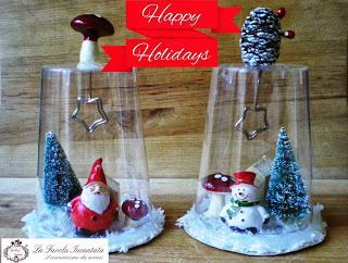 Lavoretti con bottiglie di plastica: Lavoretti Di Natale Con I Bicchieri Di Plastica Pupazzi Ed Un Un Po Di Fantasia Paperblog