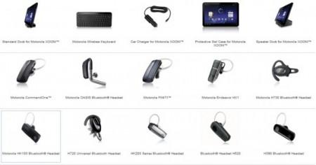 Tablet Motorola XOOM. Accessori per Tablet Motorola XOOM
